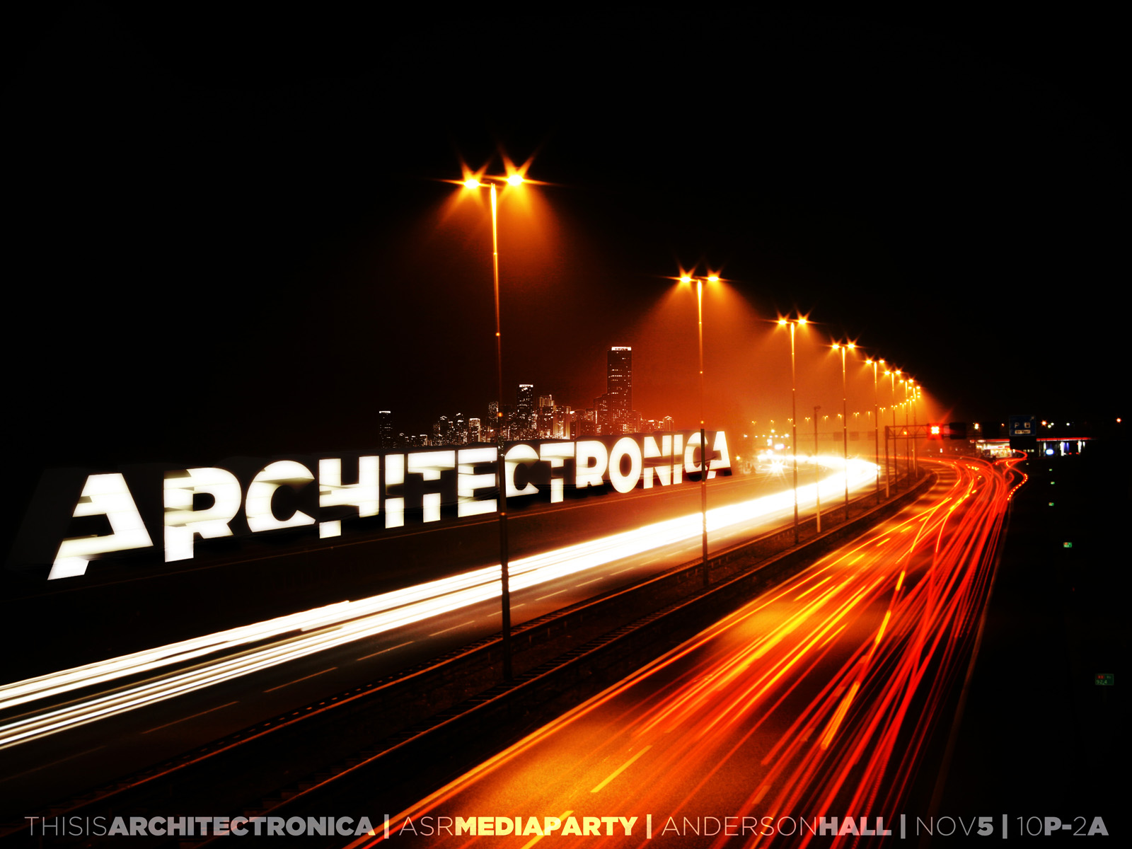architectronica poster red road