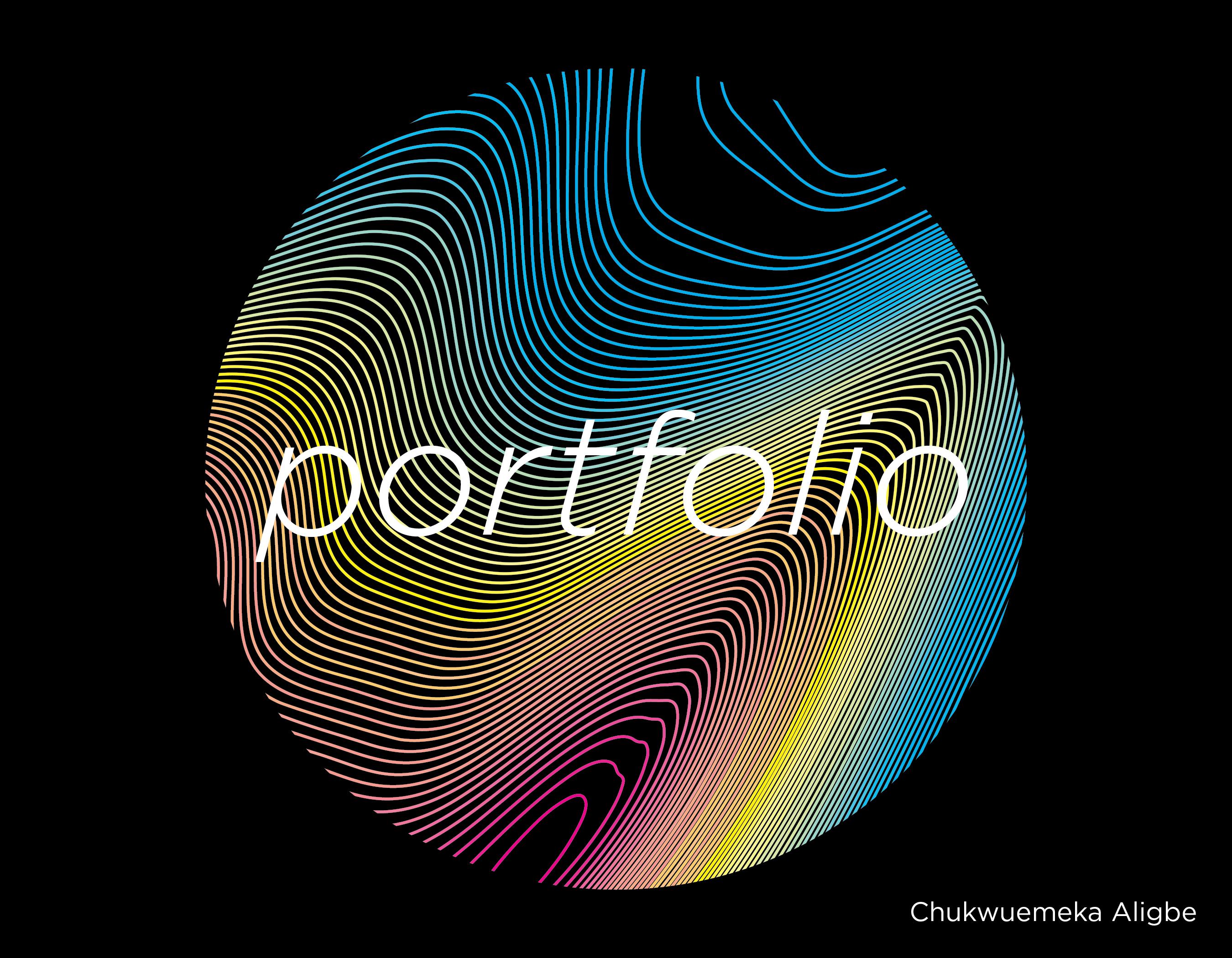 New portfolio cover