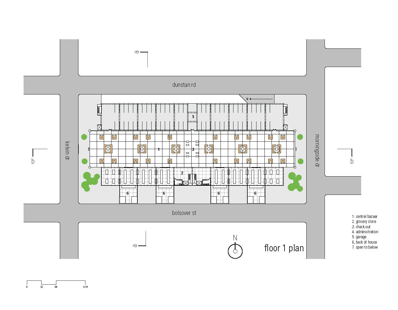 Greengrocer808 1st floor plan