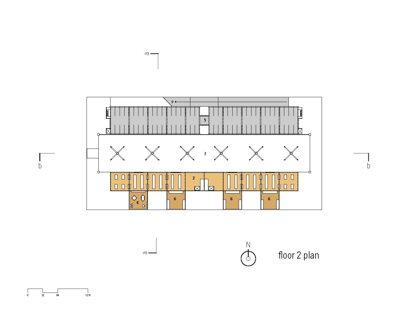 Greengrocer808 2nd floor plan