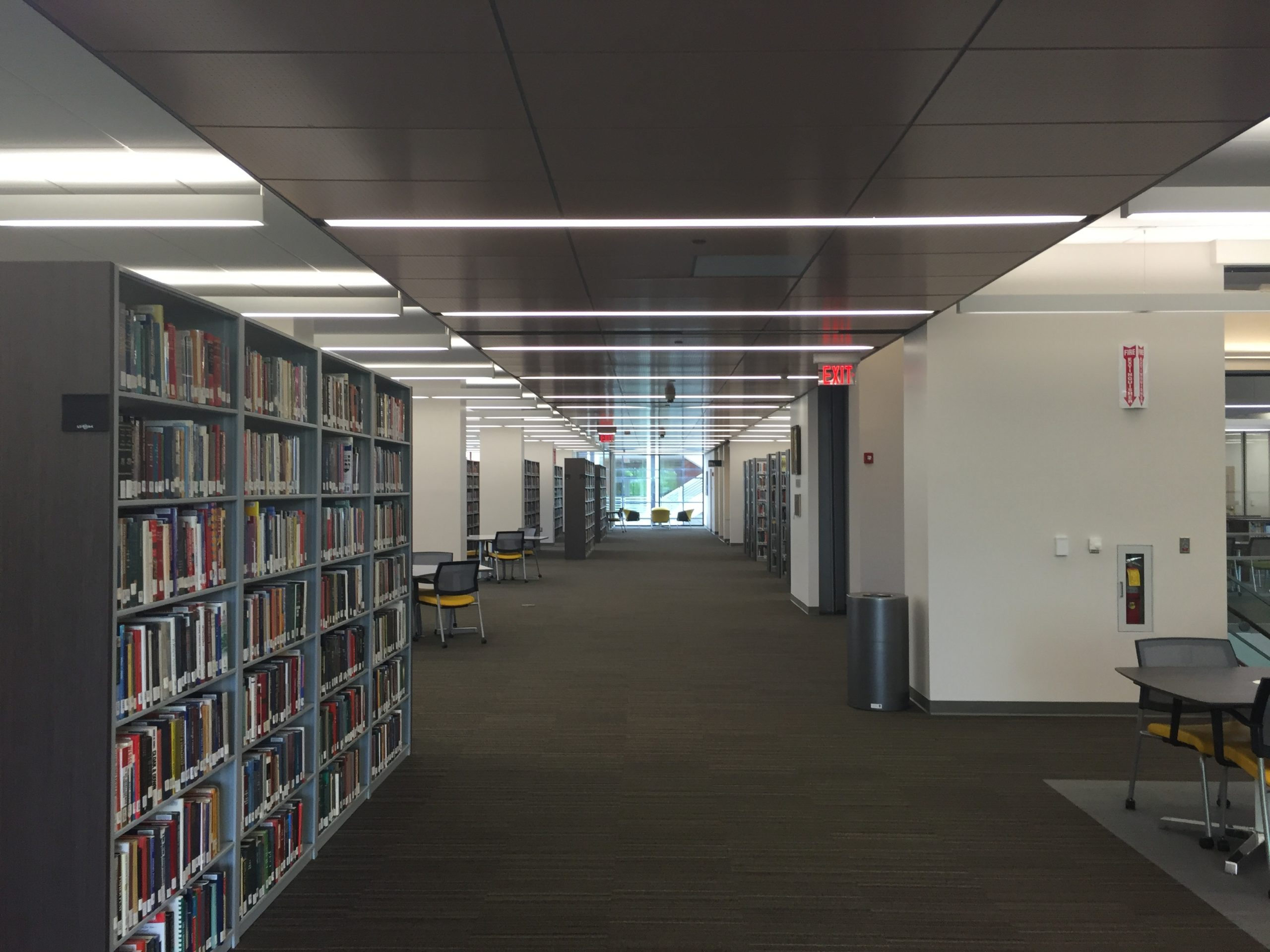 Hightower Library Main Space