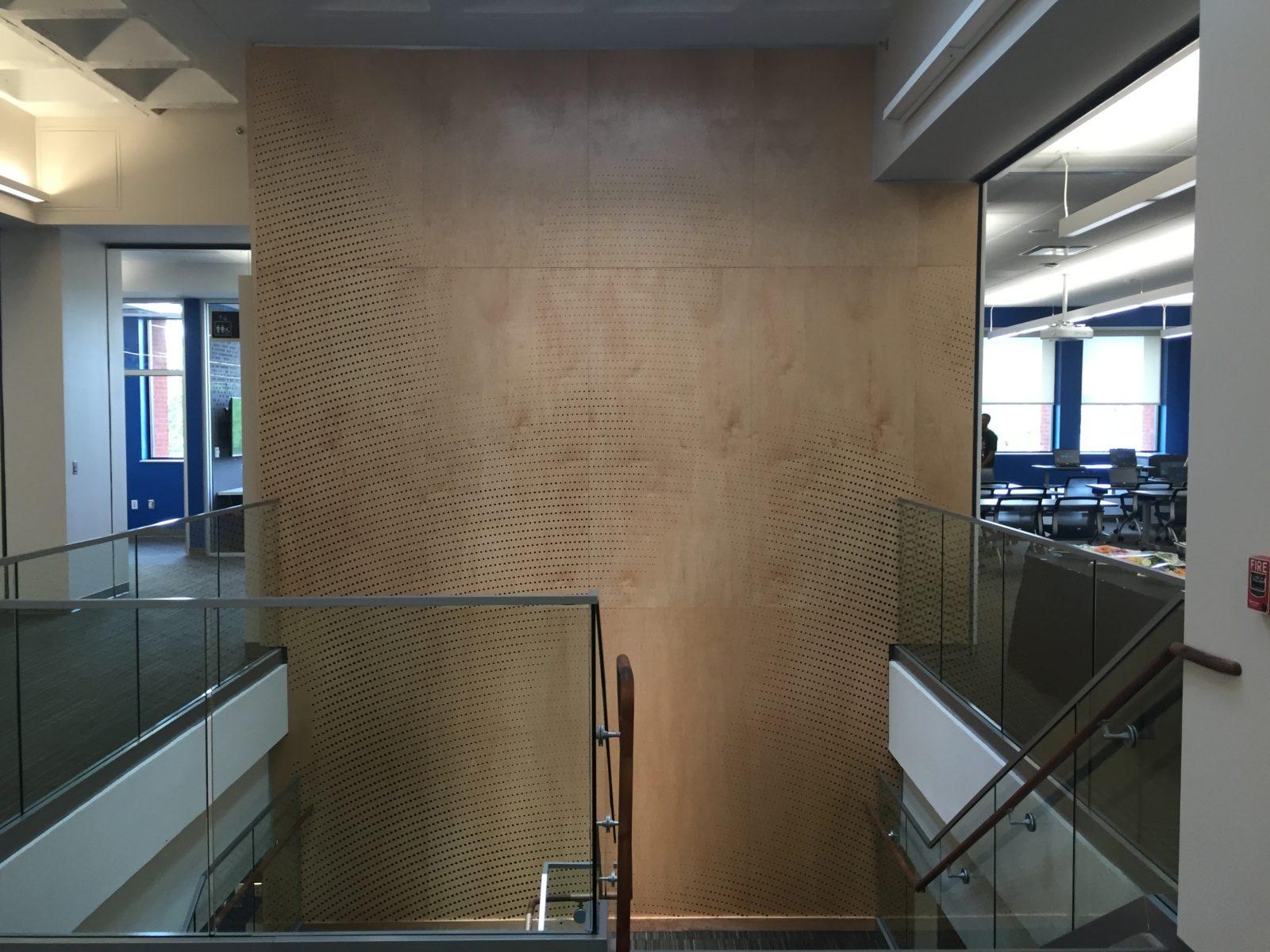 hightower stair wall detail