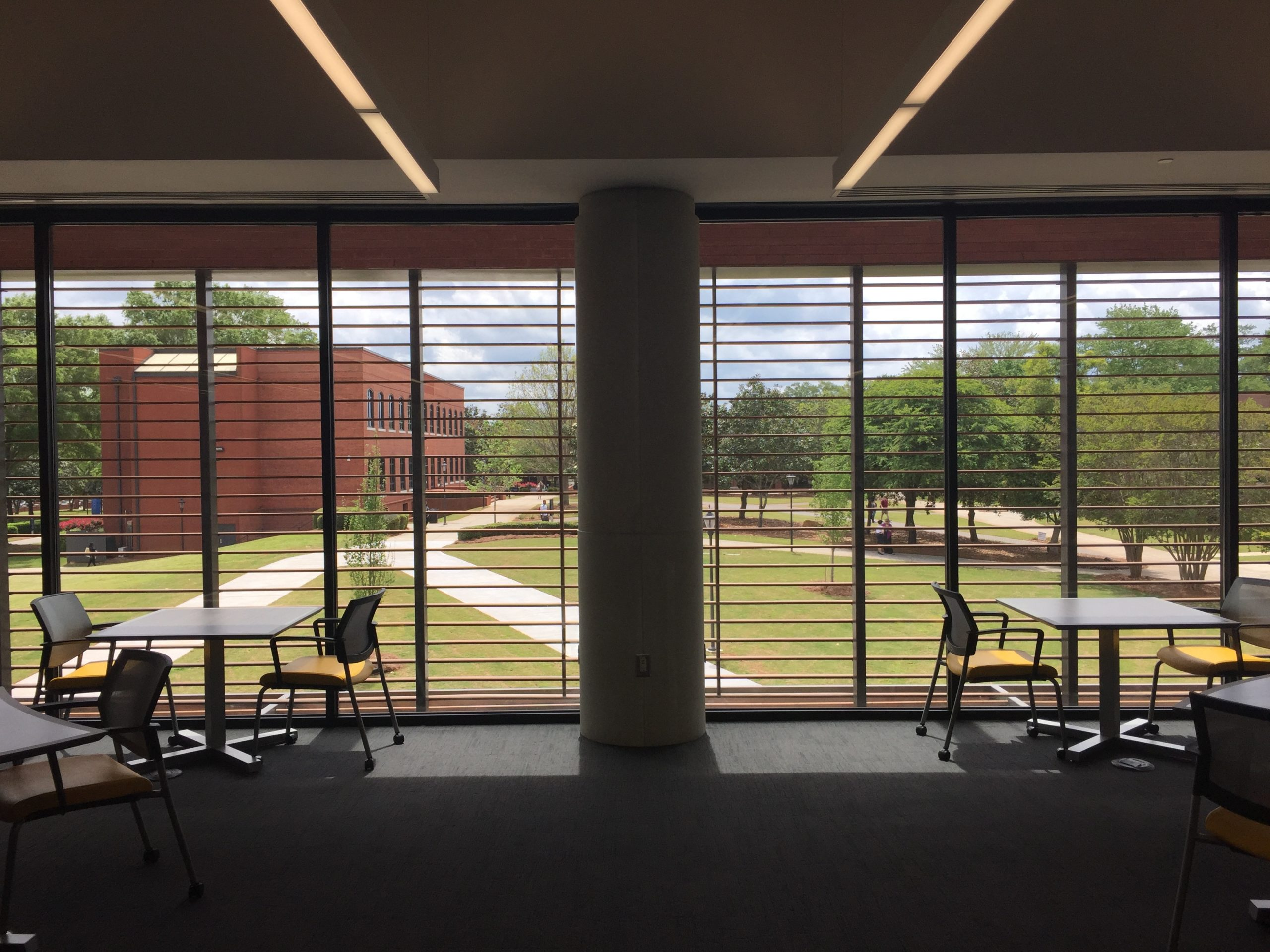 Hightower Library Second Story Window