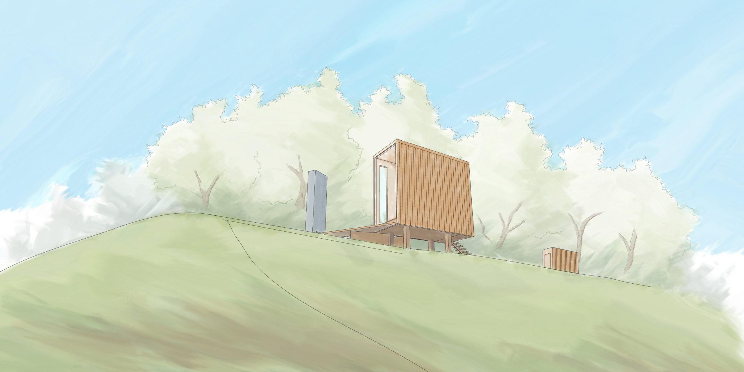 Lake Hartwell Cabin rendering for Lightroom Studio