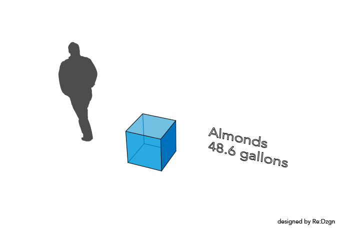 Almonds Water Footprint