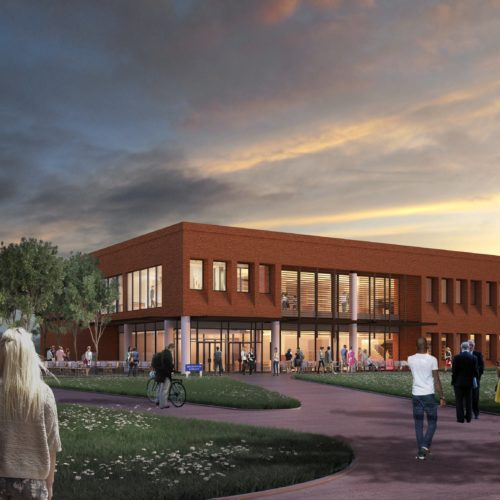 GSC Hightower Library rendering
