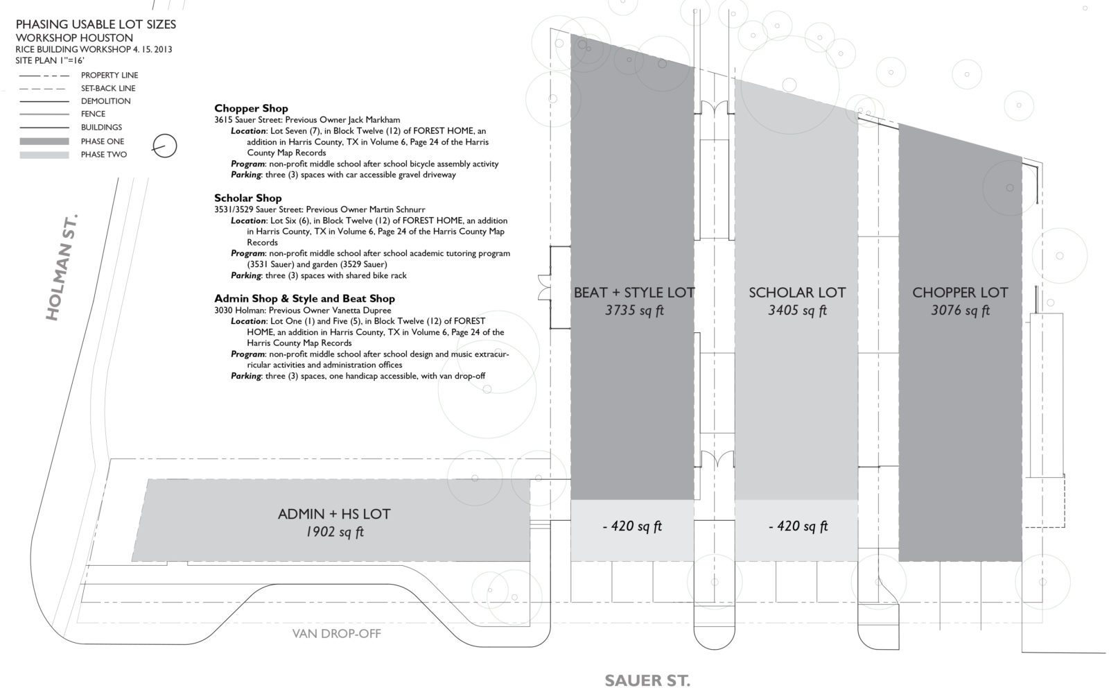 Workshop Houston Plan Diagram 3