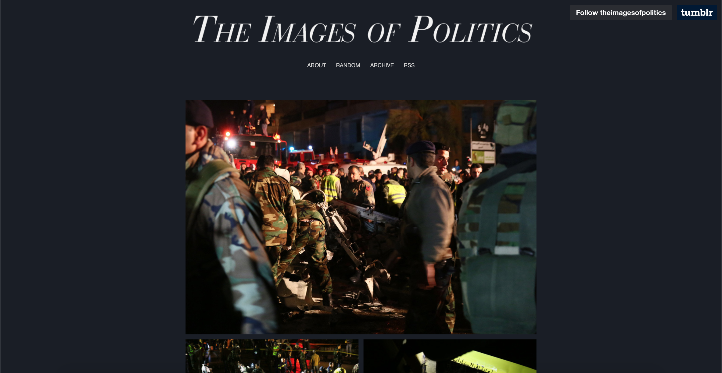 the images of politics page 1