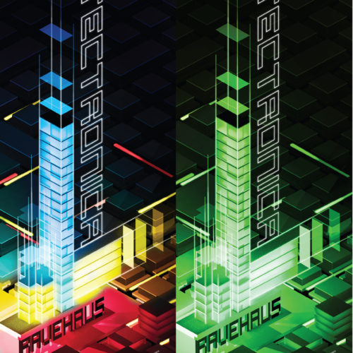 architectronica ravehau5 poster pair