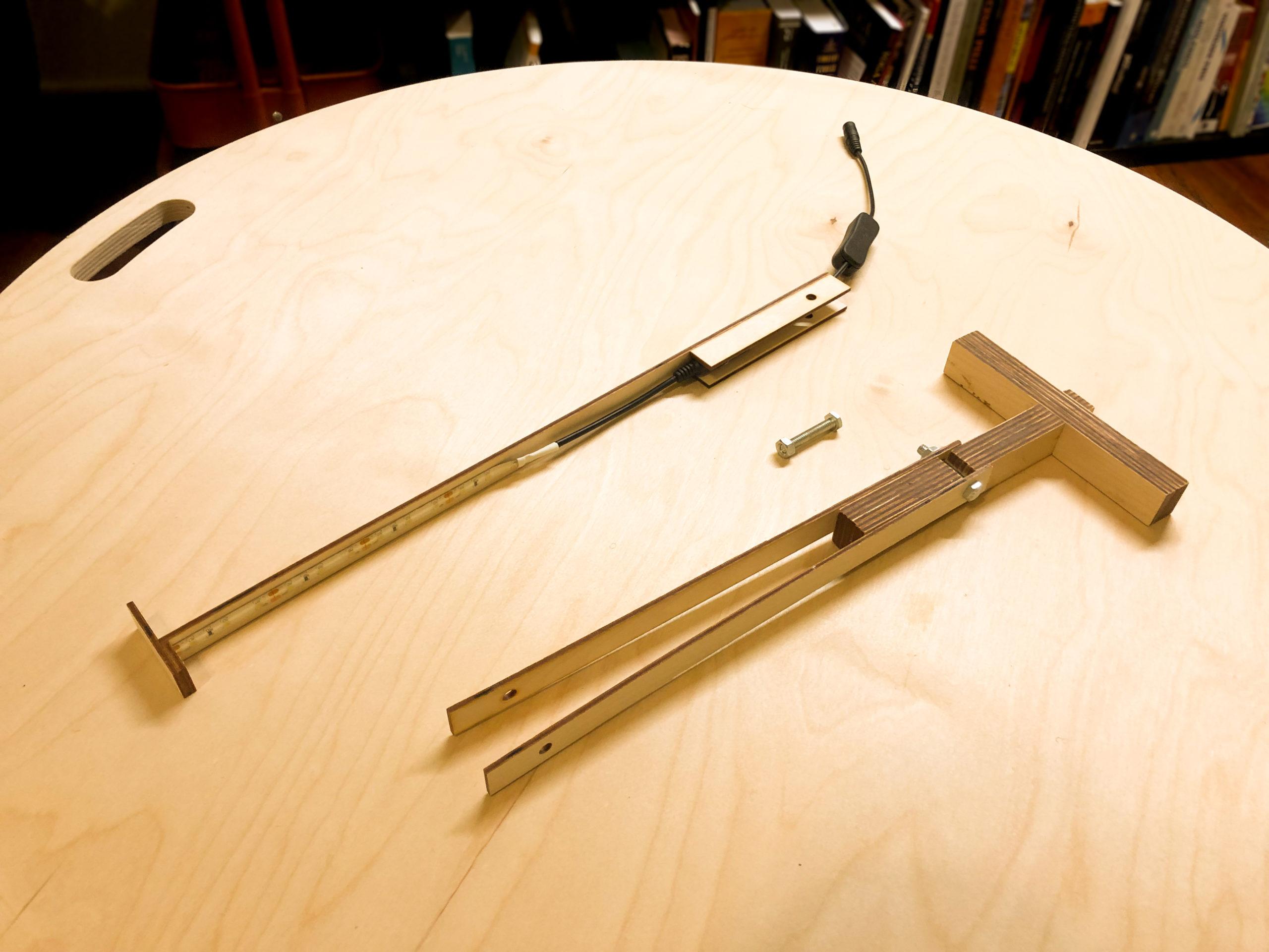 armature lamp pieces