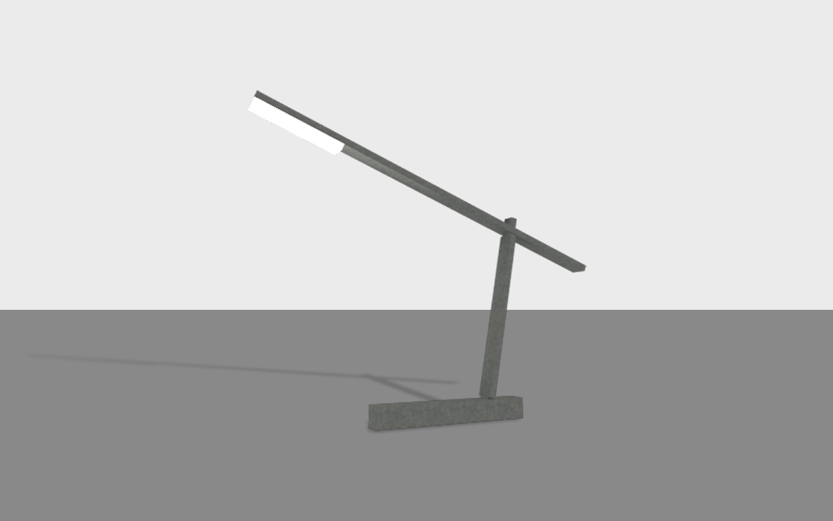 armature lamp simplified model