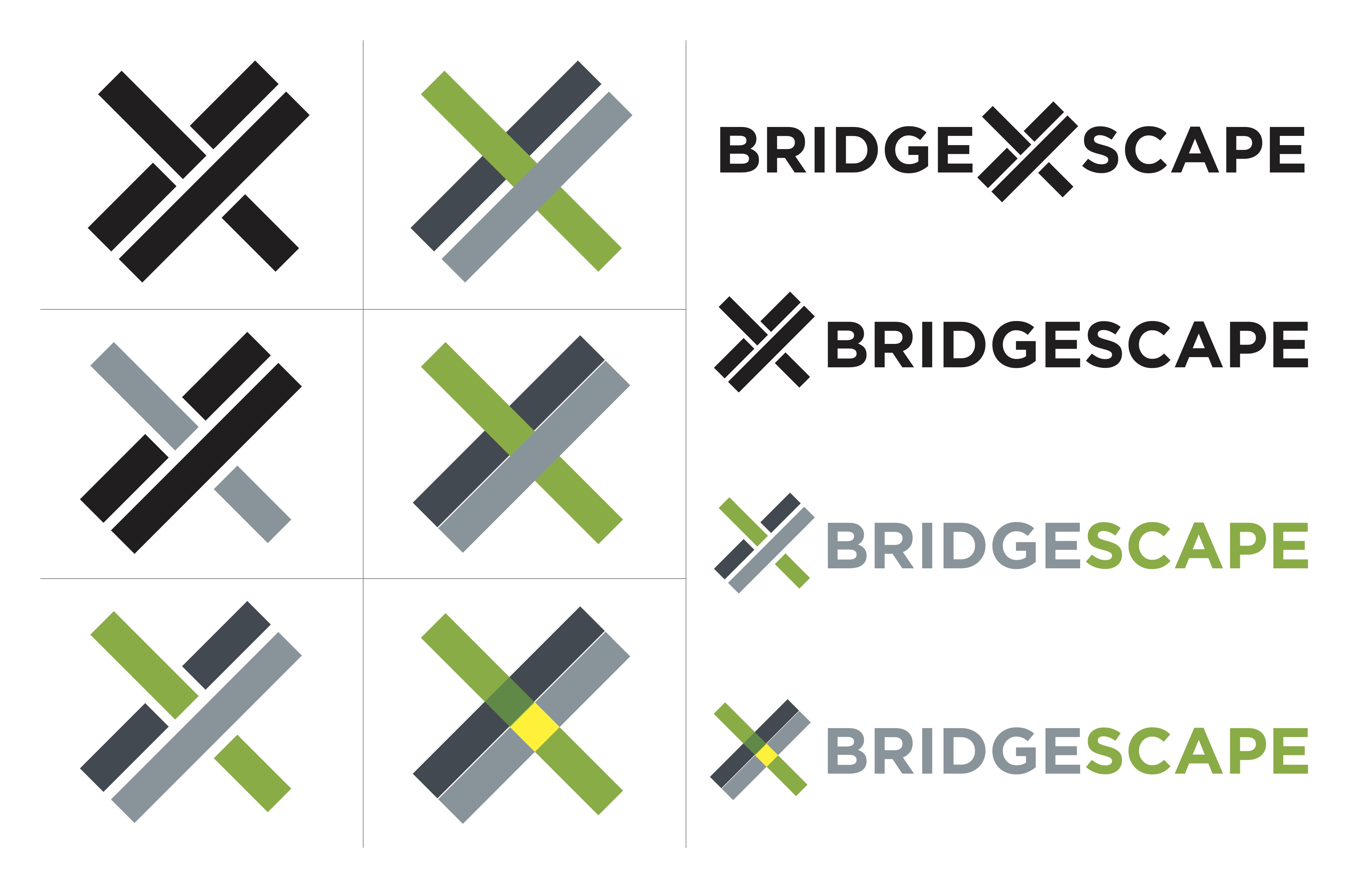 bridgescape logo designs