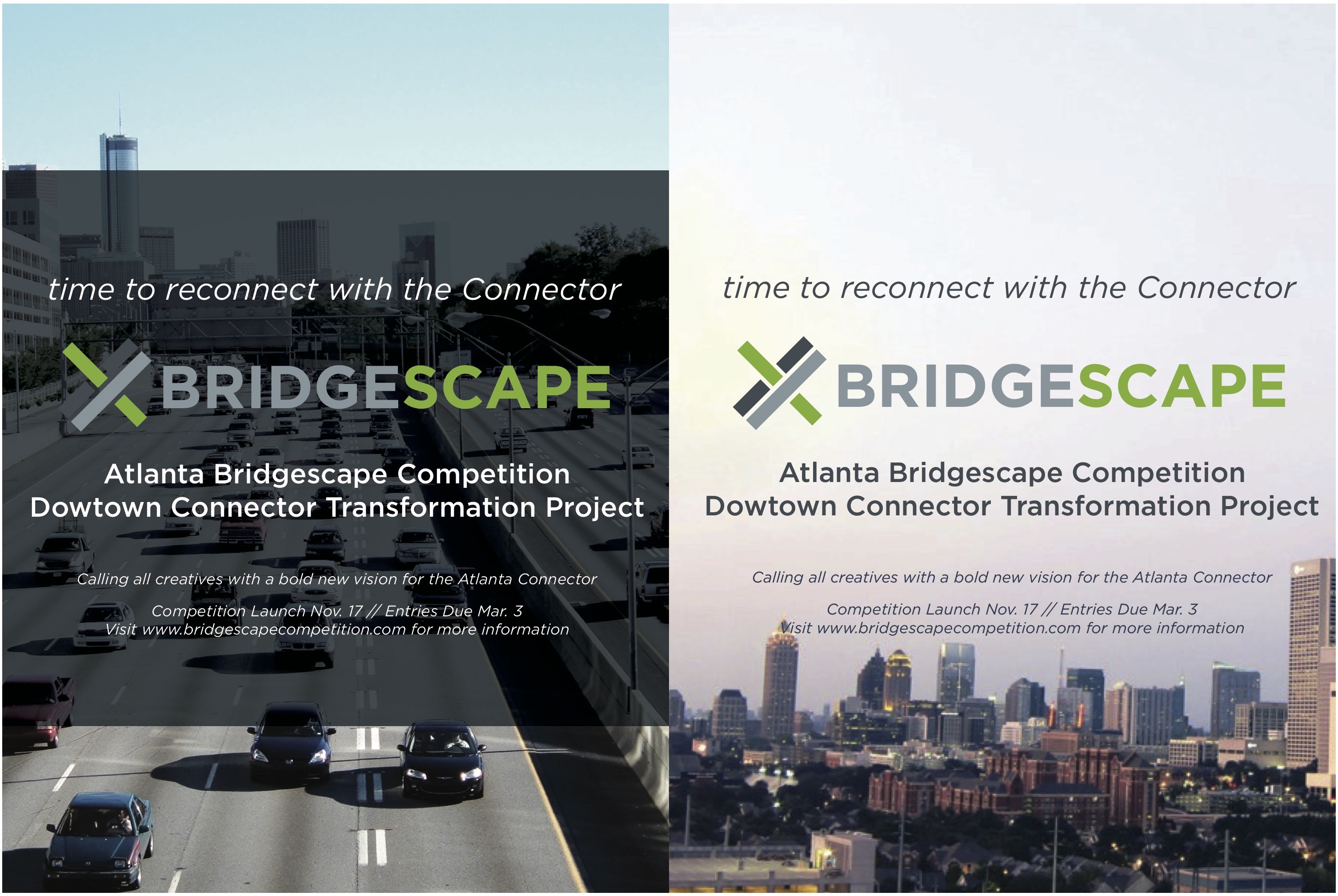 bridgescape poster designs