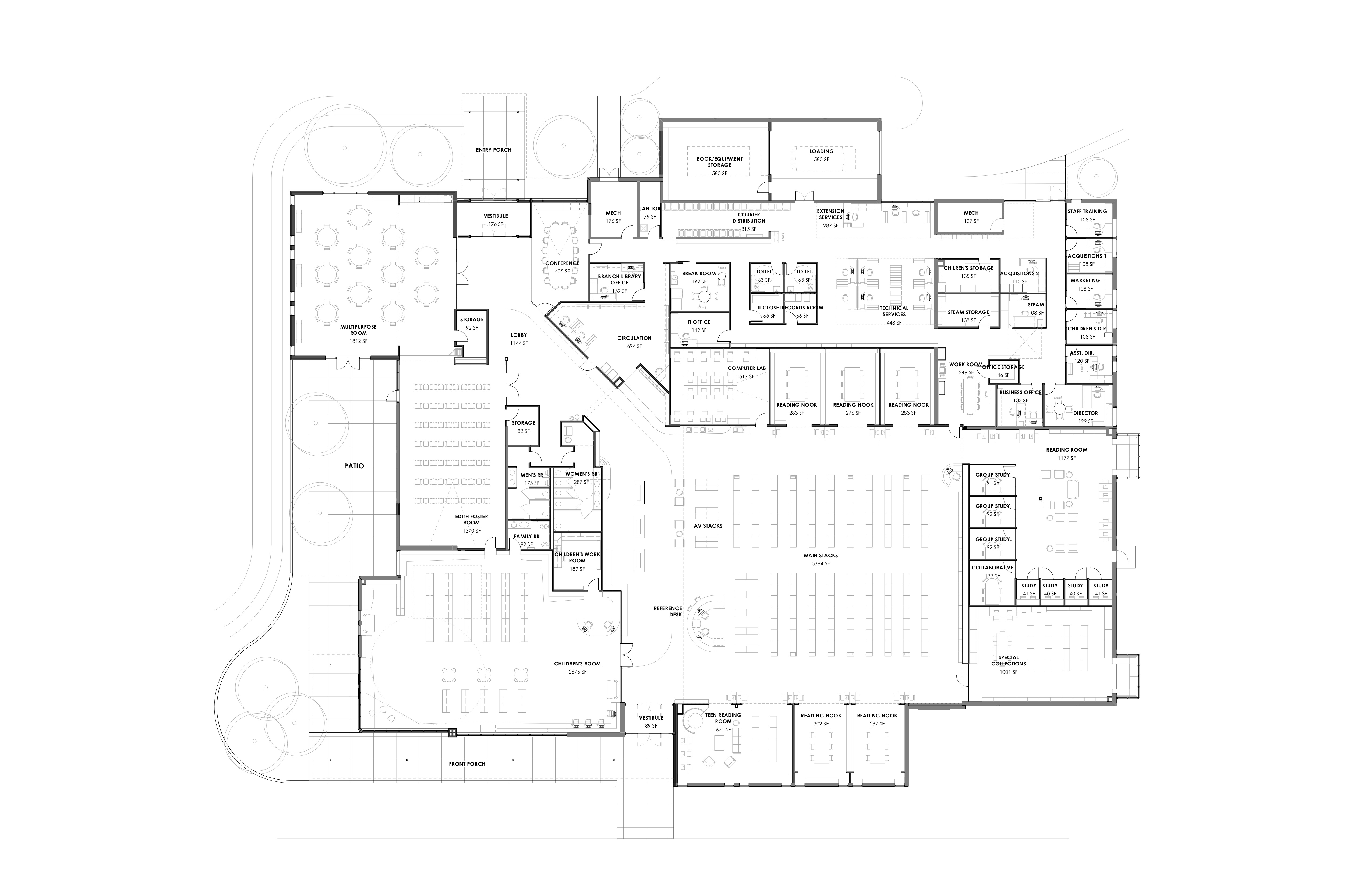 CPL Proposed Floor Plan