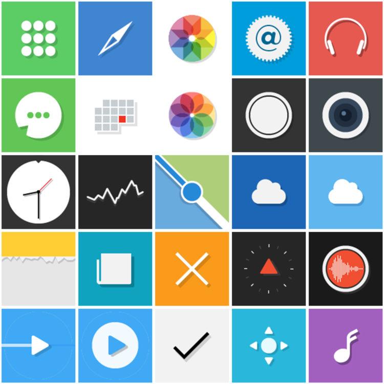 Micron iOS Icons