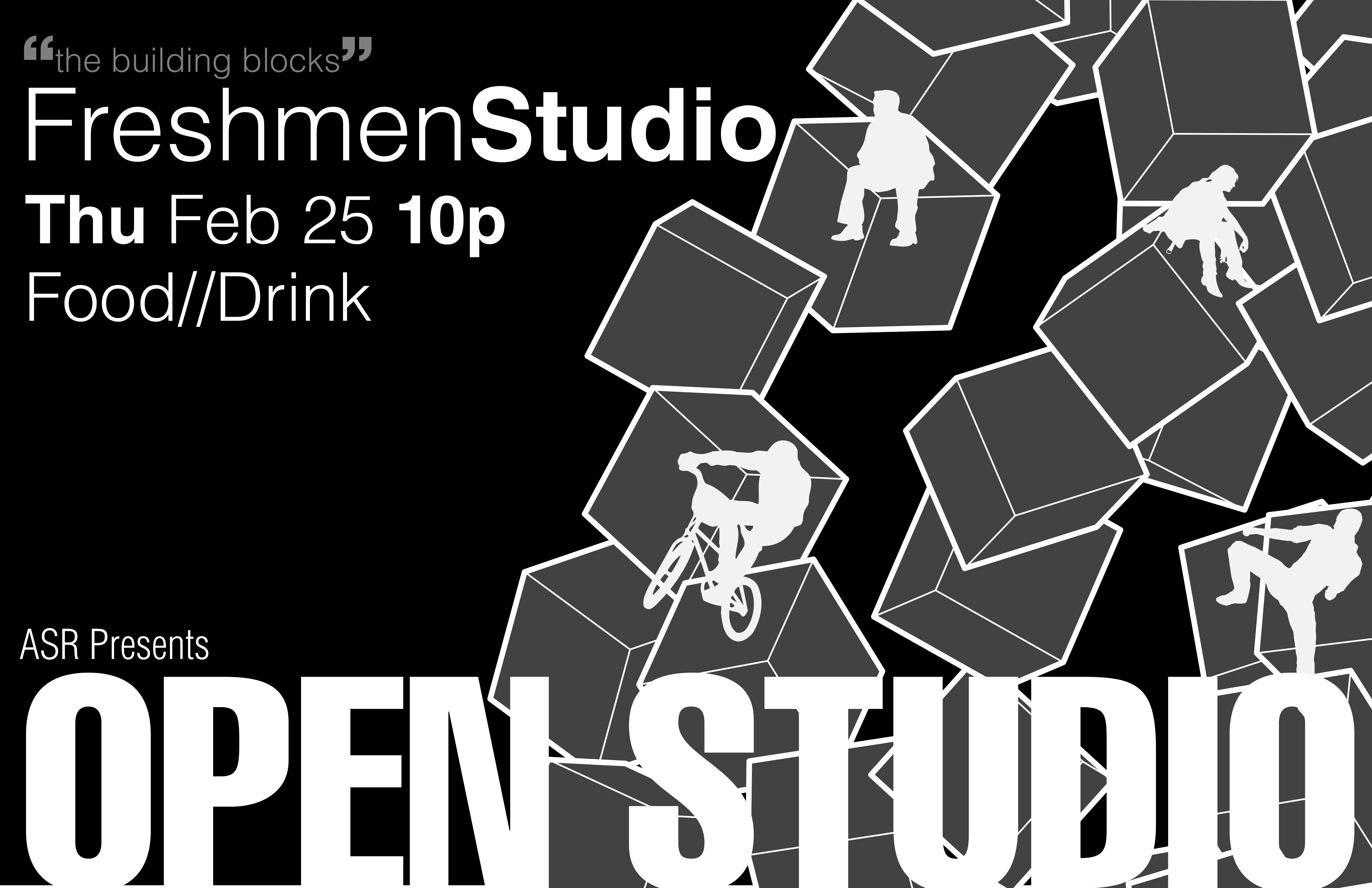 open studio poster 1