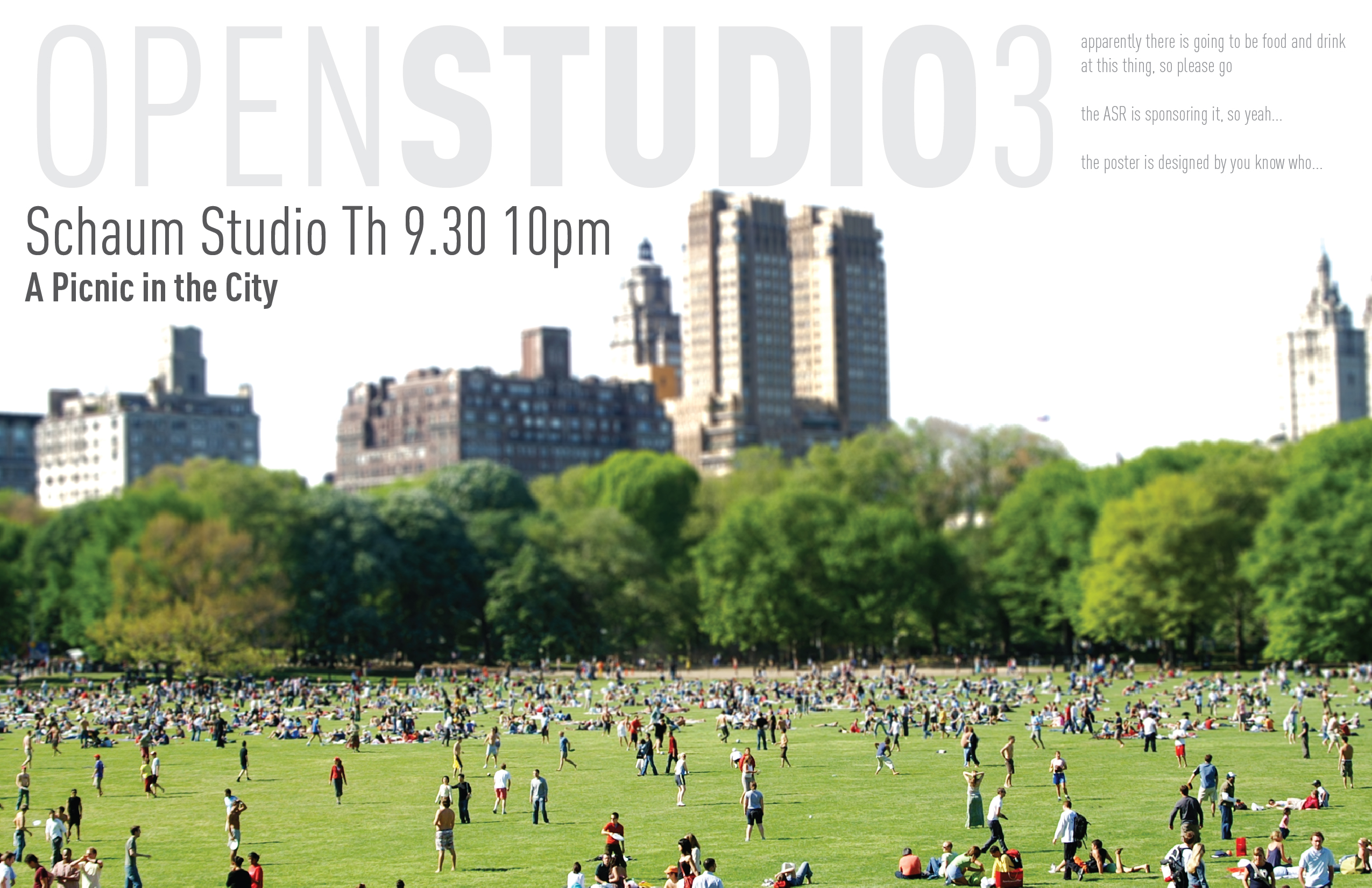 open studio poster 3