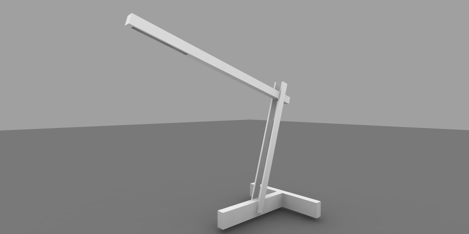 solar armature lamp rendering