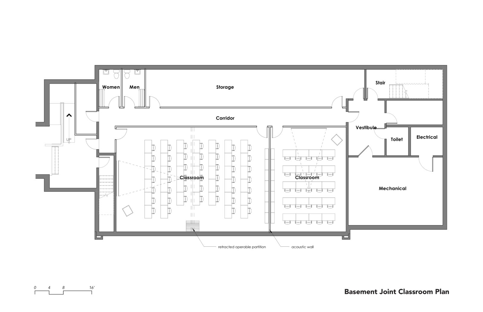 st james classroom plan