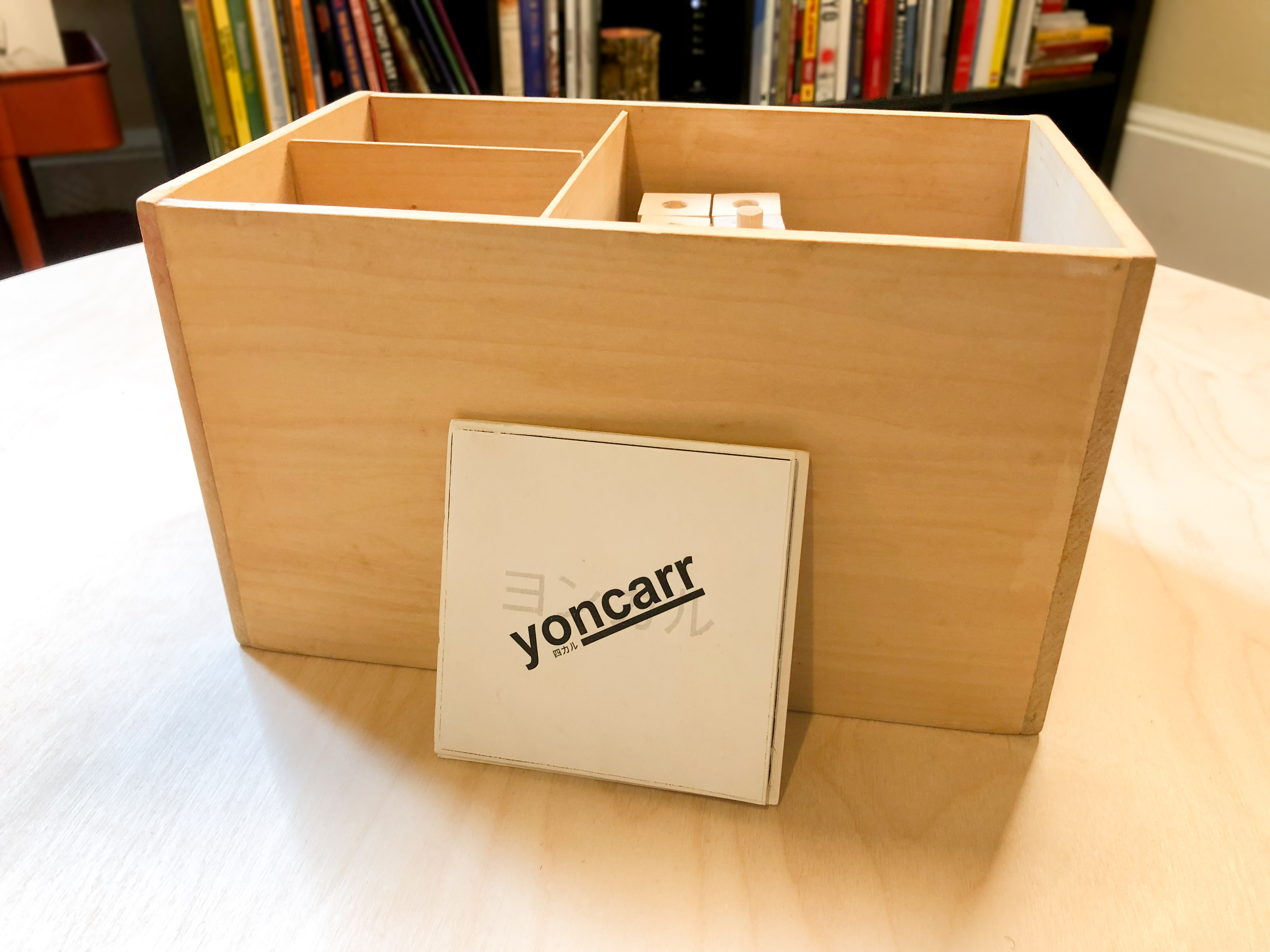 yoncarr toy box and booklet