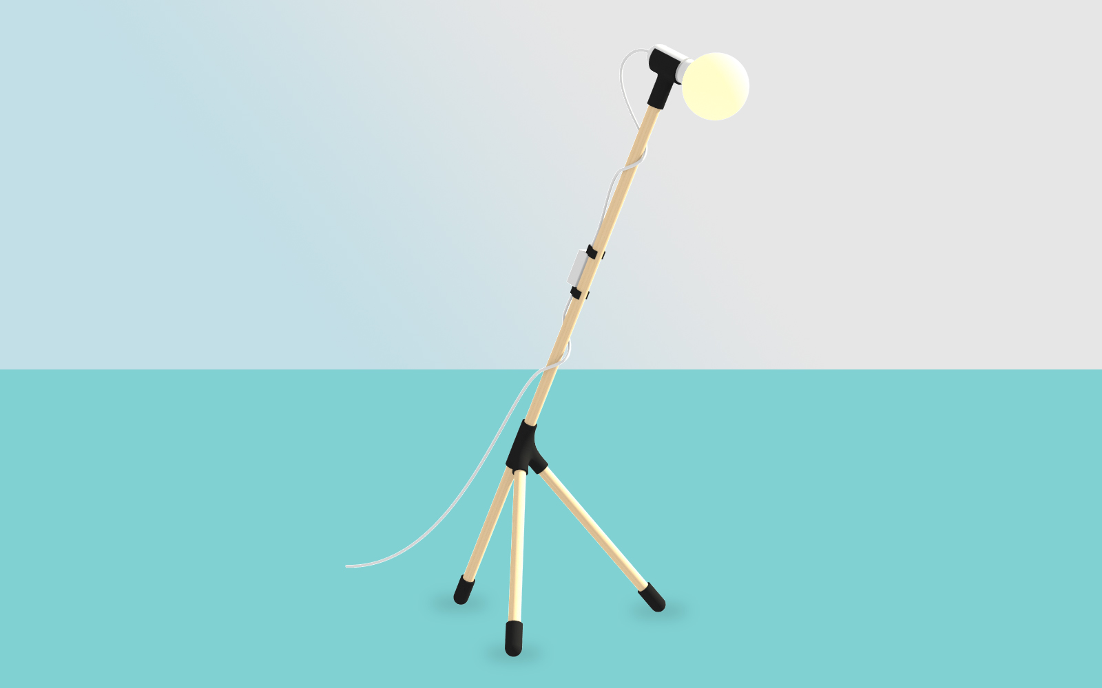 jirafu lamp black