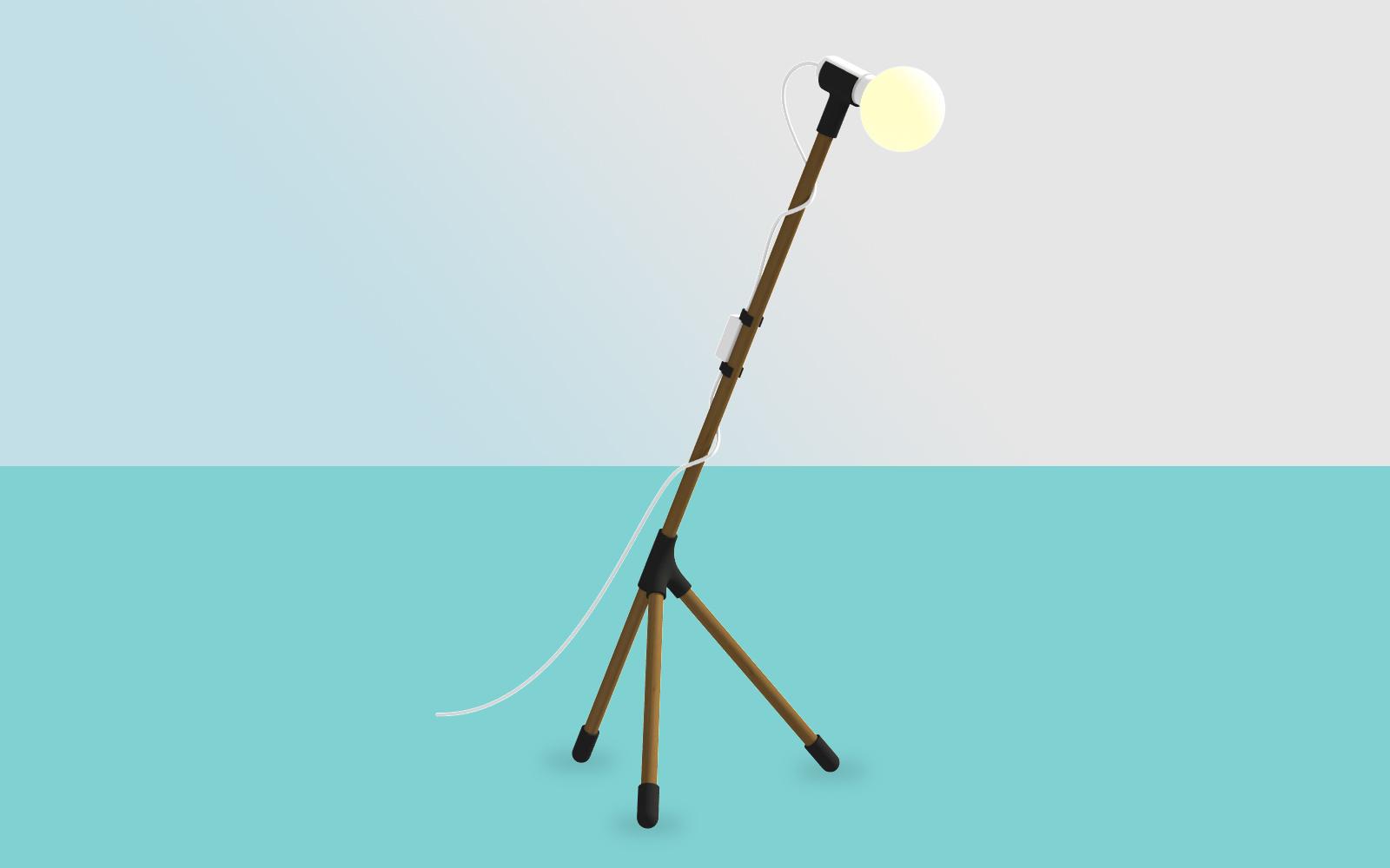 jirafu lamp dark